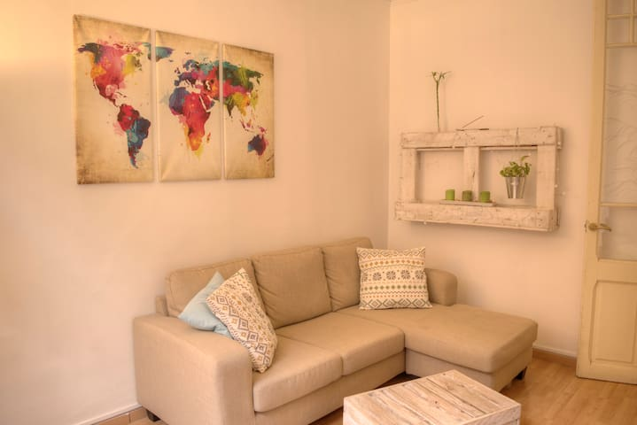Private Cozy Double Bedroom in City Center - Barcelona - Apartment
