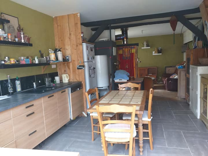 Maison/chambres,simplicité au calme en Périgord !