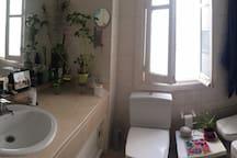 Vista del baño.