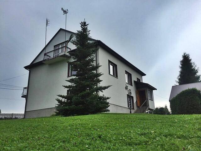 Country house with big garden - Ołpiny - Talo