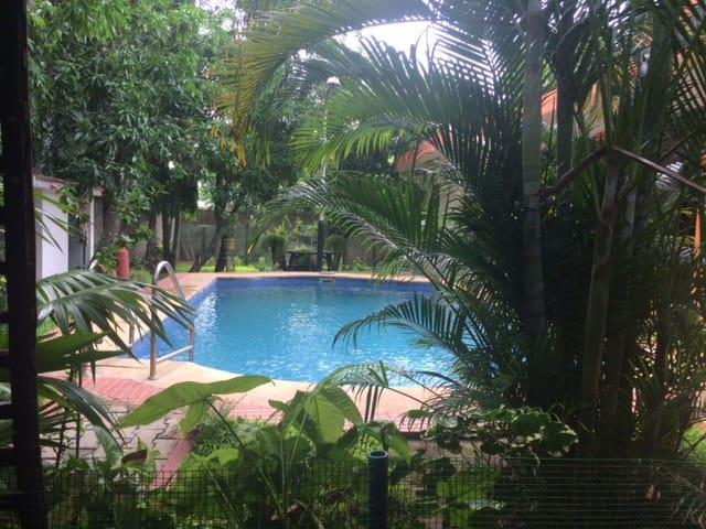 Cool Blue Pool.