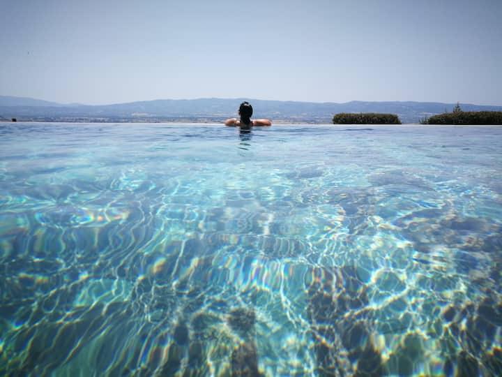 Domus Clara - Villa con piscina panoramica