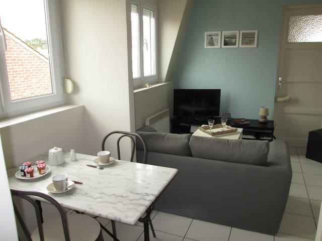 Appartement cosy - WIFI / Stationnement gratuit - Le Touquet-Paris-Plage - Társasház