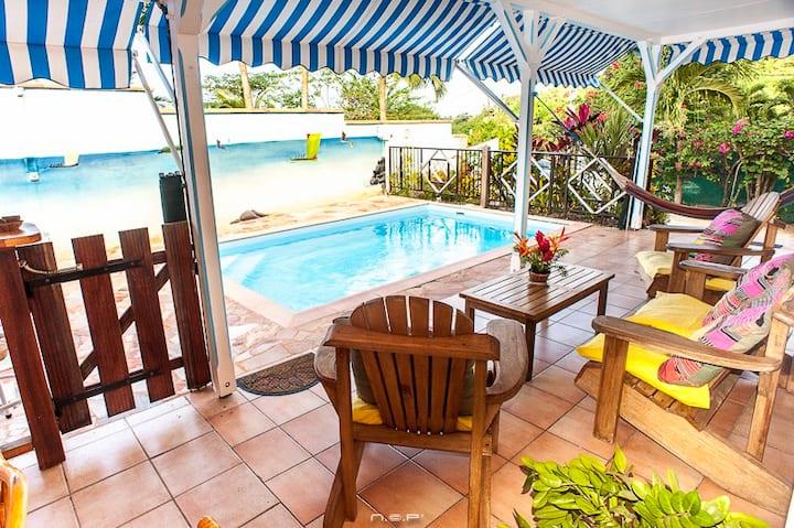 Villa avec Piscine privée, Jardin et BBQ