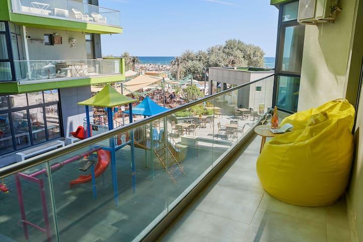 Apartment El Capitan-1 BR-Beach Resort - sea view