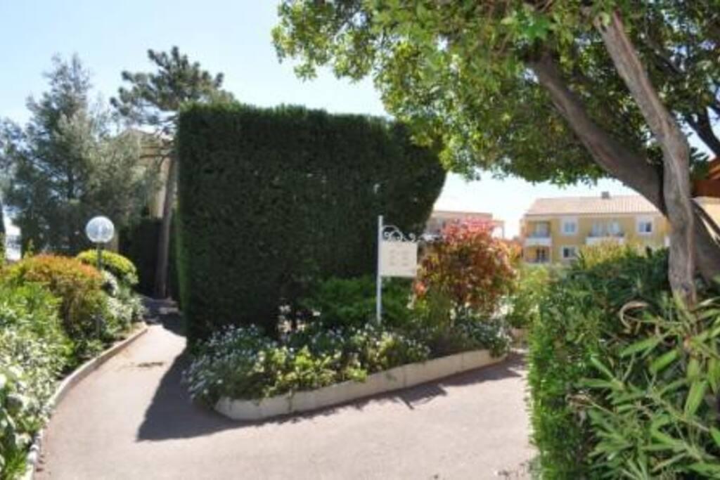 La résidence: Côté accueil