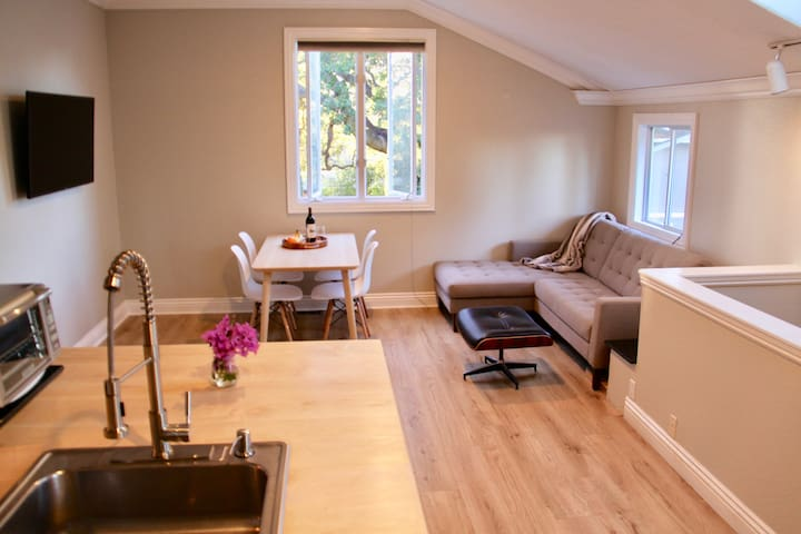 Cozy 2 bed 1 bath private apartment by Santana Row