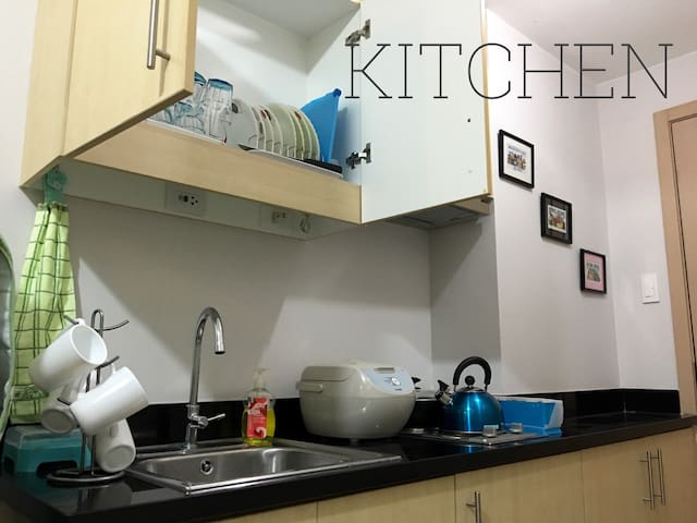 1 BR Condo at SM Grass w/ WIFI 820 - Quezon City - Condominium