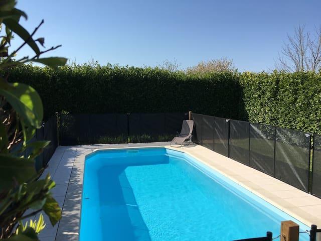 Villa maison La Rochelle Ile de Ré piscine privée