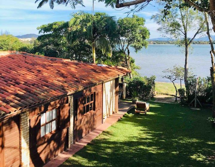 Bangalô da lagoa - Ibiracasa