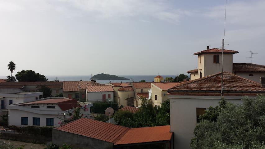 Splendido appartamento sul mare - Cirella