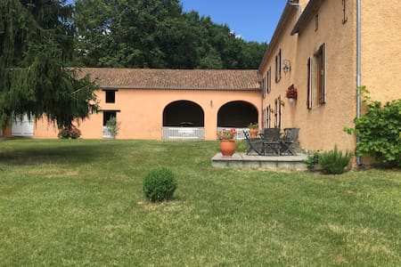 Villa Sombrun close to Marciac - Sombrun - Casa