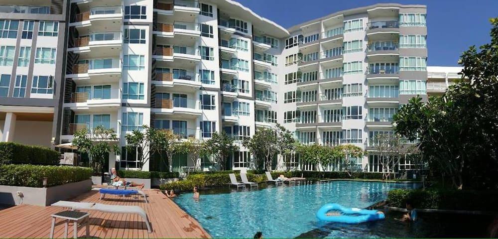 คอนโดบ้านวิววิมาน  ชั้น1 beautyful pool a peaceful - Hua Hin - Wohnung