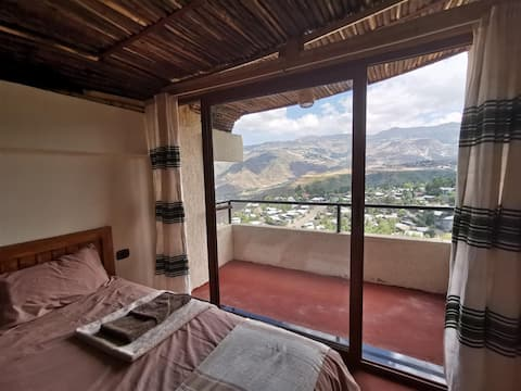 Traditional Lalibela apartment top twin