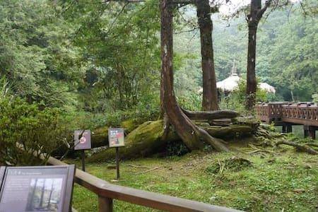 阿里山別墅山莊-歐式浪漫兩人套房 - Alishan Township - Minsu (Taiwan)