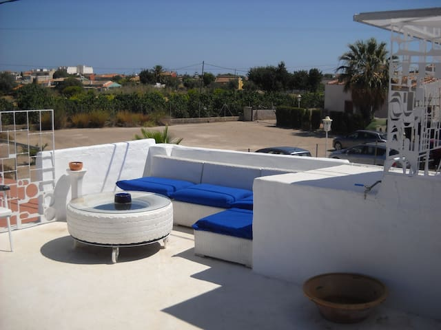 Casa en Vergel con terraza chill out - Ondara