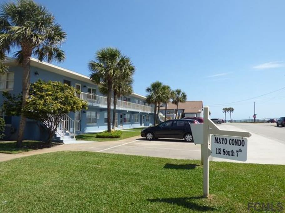 Unit #12, 1 block from the Beach