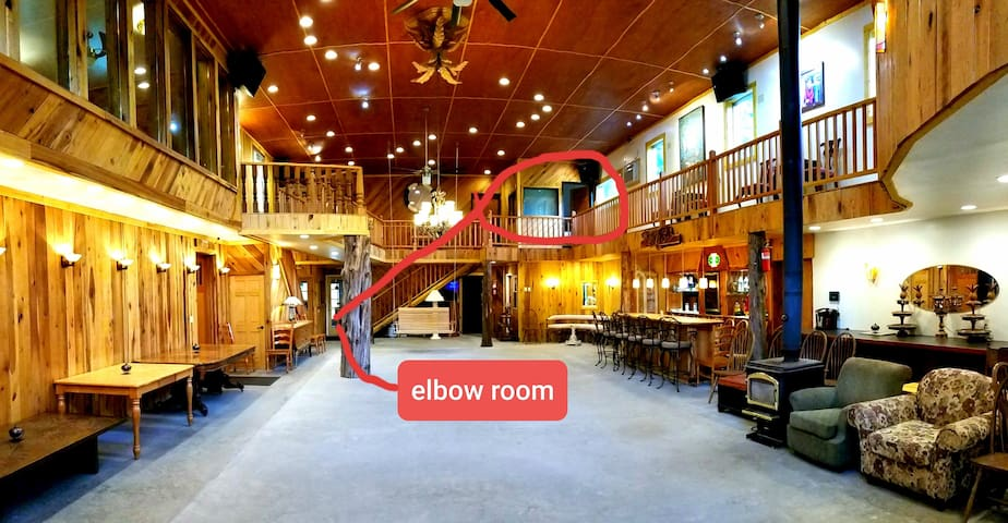 Elbow Room at The White Lotus Eco Spa Retreat