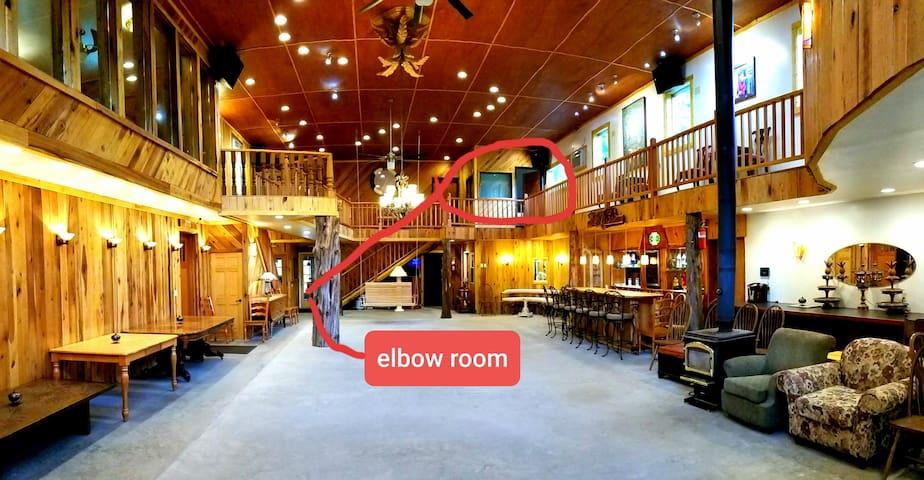 Elbow Room at The White Lotus Eco Spa Retreat