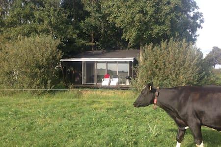 Vind rust in landelijk gelegen Tiny House