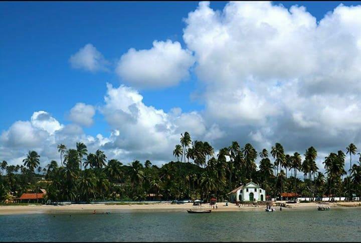 Bangalô  Luxo Cond. Beira Mar Praia dos Carneiros