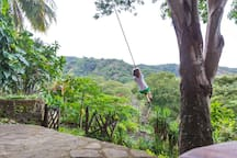 Rope swing photo by Jennifer Ciplet Photography