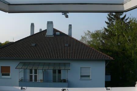 uninahe 50er Jahre Mansarde - Karlsruhe - Lakás
