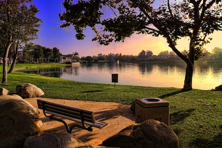 Charming Studio by the Lake - Rancho Santa Margarita - Ortak mülk