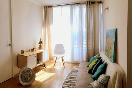 Moderno Apartamento - Ñuñoa