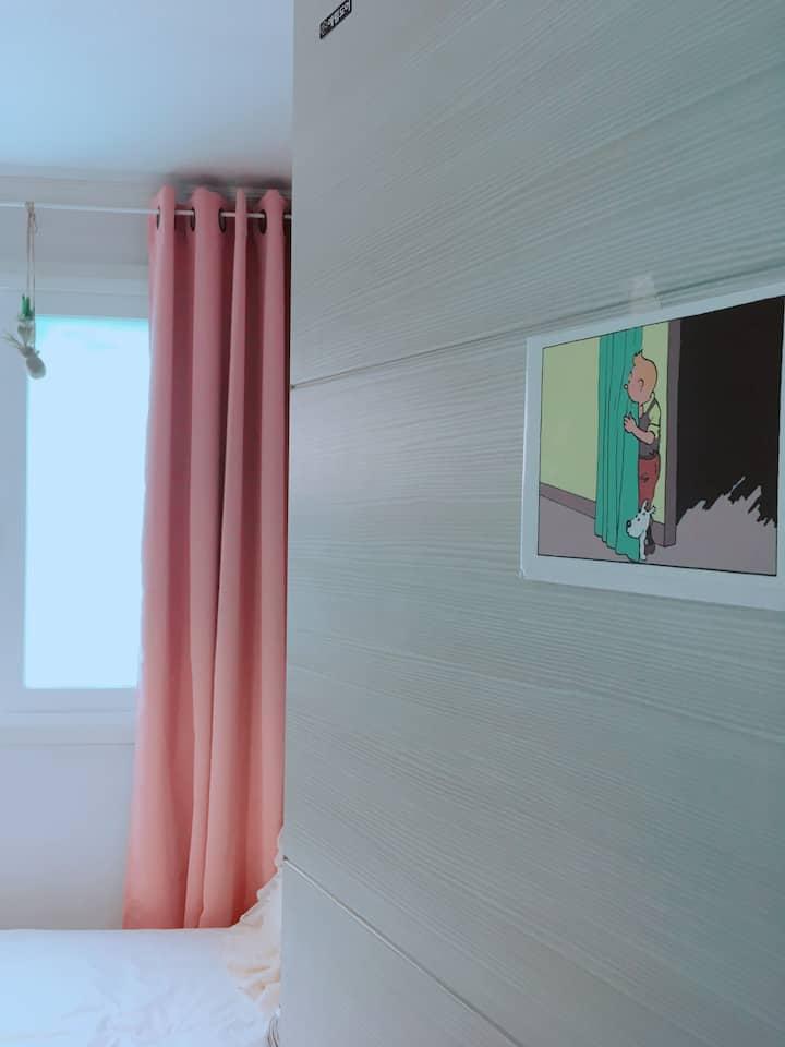 [hongdea/DMC] Pluto city/ Single Bedroom