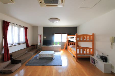 5 bedrooms☆MAX 30people☆Free wifi (S56) - Ikuno-ku, Ōsaka-shi - House