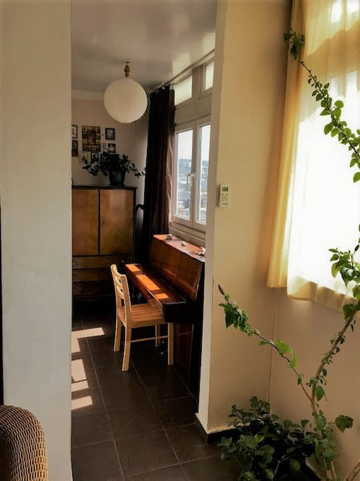 Small room with piano :)