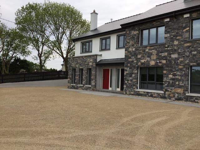 New luxury house on the wild Atlantic way.