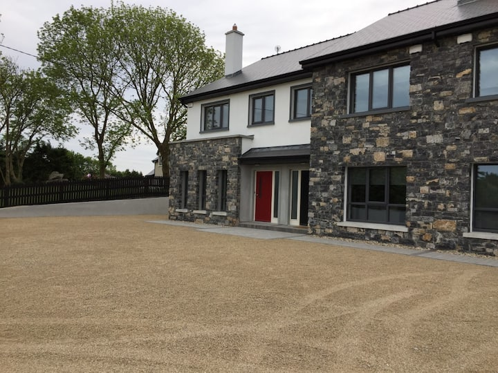 New luxury house on the wild Atlantic way.