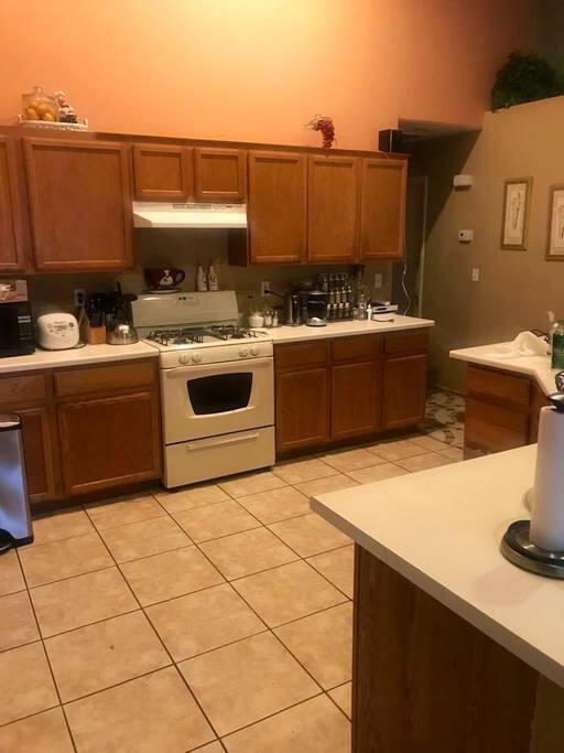 Open style kitchen