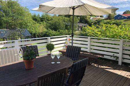 Sommerhus i Ebeltoft med orangeri