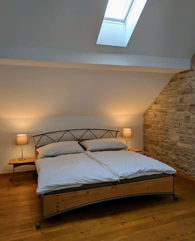 Bett im Traditionszimmer