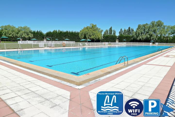 Gîte Antonio avec WIFI et piscines municipales