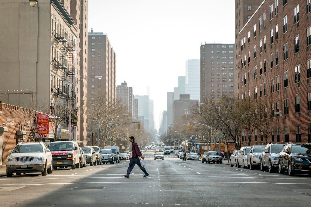 Foto van East Harlem in East Harlem