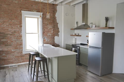 Charming Newly Renovated 1 Bdrm Downtown Apartment