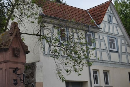 Lovingly updated historic house (300+ years old) - Zwingenberg - Talo