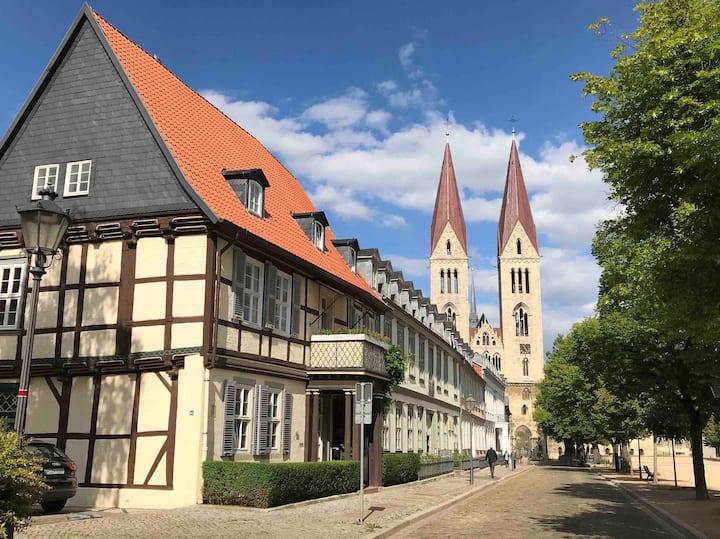 Schönes Apartment am Domplatz Halberstadt