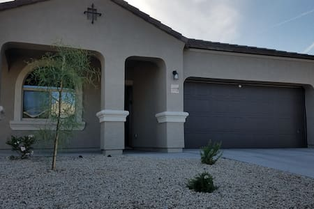 One level 4 bedroom 2 bath home in Maricopa AZ