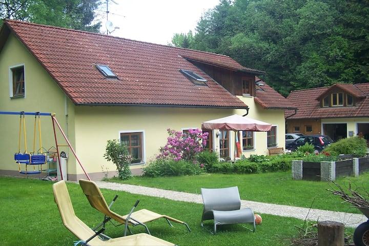 Gehobenes BuB in freier Natur bei Bayreuth