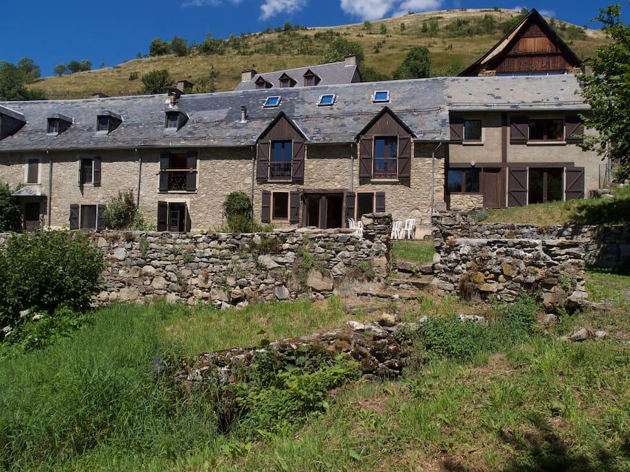 La maison, vue d'ensemble