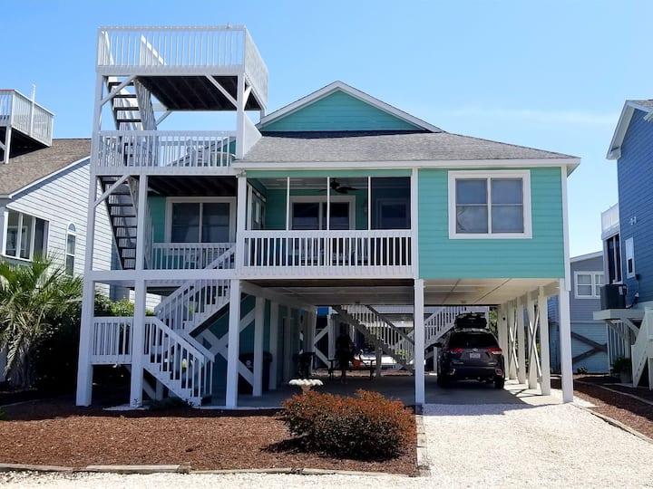 The perfect beach island getaway!