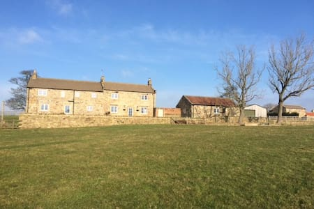Stunning Farm House with spectaular views - North Yorkshire