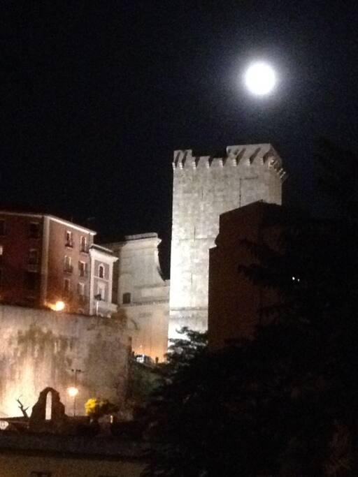 Vista notturna dai balconi
