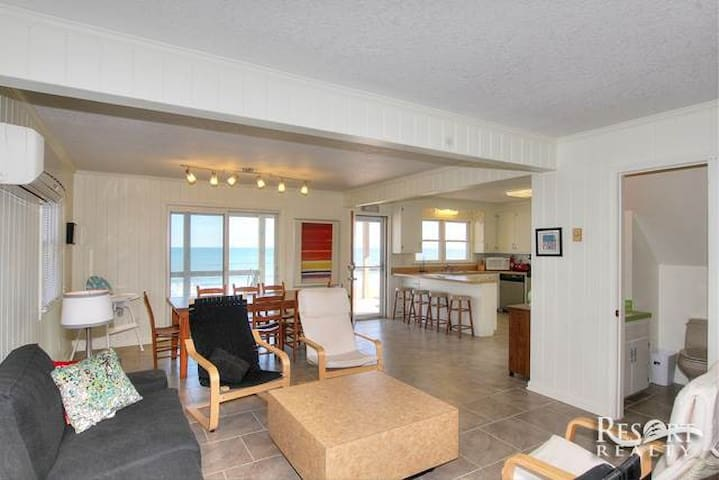 Oceanfront OBX Cottage - Kill Devil Hills - บ้าน