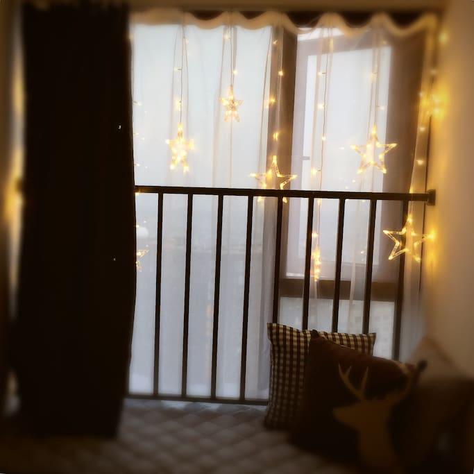 卧室的飘窗